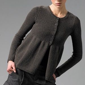 Vince • Baby Doll Wool Knit Cardigan